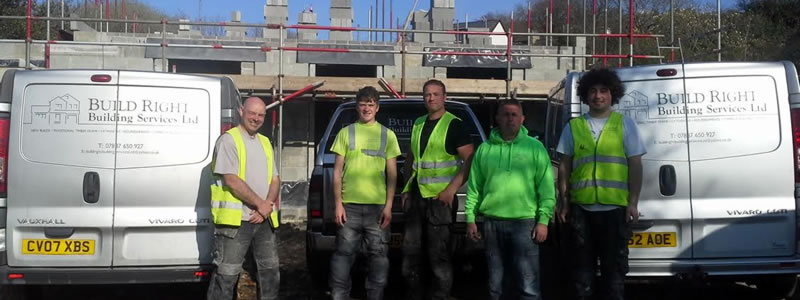 Team photo of Build Right Building Services LTD